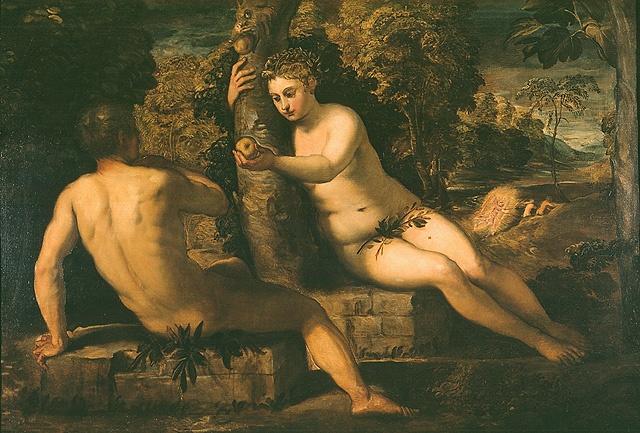 Il cibo come tentazione. La tentazione di Adamo e Eva